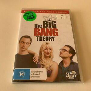 The Big Bang Theory: Season 1 DVD R4 New & Sealed