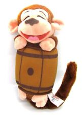 GUND Laugh-A-Rolies CHIMP Monkey in A Barrel Laughing Battery Op Plush 320764