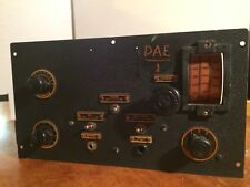 WW2 Vintage Navy Radio Direction Finding Model DAE-1 For Parts or Restoration
