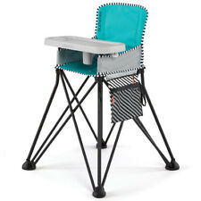 Summer Infant 22554 Pop 'n Dine Sweet Life Portable SE High Chair, Aqua Sugar