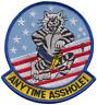 Vereinigte Staaten Marine USN Grumman F-14 Kater Allzeits Asshole Bestickt Patch