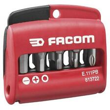 FACOM E.111 11 Pce. HIGH PERFORMANCE MIXED SCREWDRIVER BIT SET