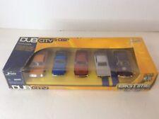 Jada Toys DUB CITY Big Time Muscle 5 Deep Die Cast Cars Shelby Chevy Dodge Cuda