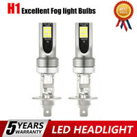 2x H1 LED Headlight Kits 110W 20000LM FOG Light Bulbs 6000K Driving DRL Lamp @