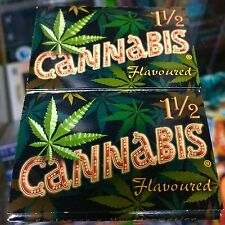 Cannabis - Printed Cigarette Rolling  Papers Pak Lot RARE L@@K