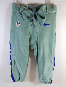 2013 Dallas Cowboys Game Issued Grey Seafoam Game Pants 36 953