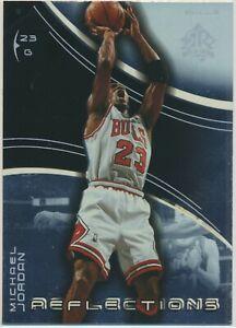 2003-04 UD Triple Dimension Reflections Foil Michael Jordan GOAT #5