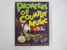 1992 Yazoo PIONEERS OF COUNTRY MUSIC 40 Card Box Set Art by R. Crumb