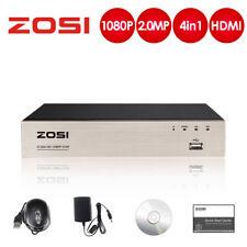 ZOSI 8CH H.264 1080P 4 in 1 DVR Video Recorder Überwachung Win & MAC APP Remote