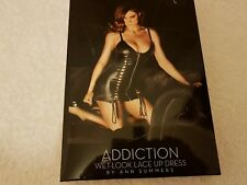 Ann Summers Addiction wet look dress Size Large 16 -18  New Without Tags No Box