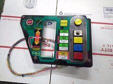 sega arcade control panel plexi part untested