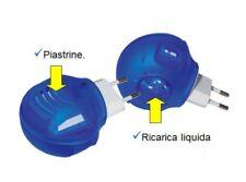 Fornello Elettrico Antizanzare 2in1 Presa Piastrina e Liquida Zanzare dfh