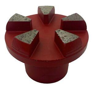 Diamond Plug 18/20 Grit Medium bond 5 Segments -Concrete Diamond Tooling