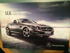 Prospekt Brochüre Mercedes Benz SLK Roadster 06/2015 Top
