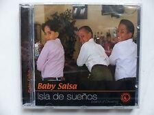 CD Album s/s BABY SALSA Isla de suenos Island of dreams TUMI106