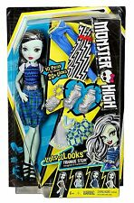 Monster High LOTS OF LOOKS FRANKIE STEIN Doll - BRAND NEW