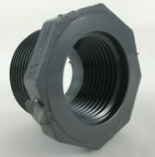 """1-1/4"""" x 1"""" in 839-168 Pvc Schedule 80 Mpt x Fpt Reducer Bushing (Flush)"""