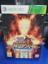 Naruto Shippuden Ultimate Ninja Storm Generation Card  Edition XBOX 360 PAL NEW