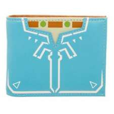 OFFICIAL THE LEGEND OF ZELDA: BREATH OF THE WILD - BLUE COSTUME BI-FOLD WALLET
