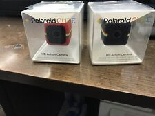 Joblot Of Two Polaroid Cube (new Items Old Stock)hd Action Cameras-faulty