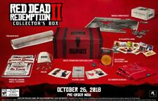 Red Dead Redemption 2 -collectors box WITHPS4 & XBOXONE ULTIMATE ED. GAMES