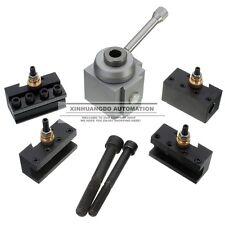 Mini Metal Quick Change Tool Post Holder Boring / Turning Facing Holder Kit
