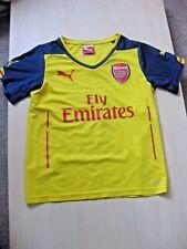 Arsenal 2014-2015 Youth Away Kit Size 26 ALEXIS 17