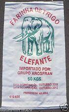 5 x Gewebesäcke 60 x 105 cm PP Getreidesäcke für 50kg Sack  **Neu** (Elephant)