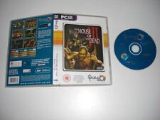 THE HOUSE OF THE DEAD III 3 Pc Cd Rom SO - FAST POST