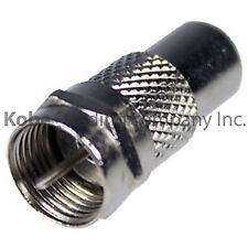 4 Pack F-Type Coaxial Coax Plug Male to RCA Jack Female Adapter