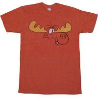 Rocky and Bullwinkle Bull Brains T-Shirt