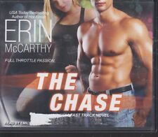 THE CHASE by ERIN MCCARTHY~UNABRIDGED CD AUDIOBOOK