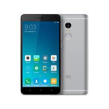 Teléfonos móviles libres Xiaomi Redmi Note color principal gris con conexión 4G
