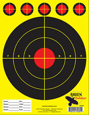 10/22 RIFLE SHOOTING TARGETS (1 Pad of 100 Targets / 8.5x11) Very Popular!