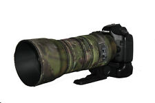 Sigma 120 400mm OS neoprene lens protection camouflage coat cover Woodland