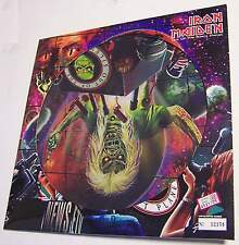 RON MAIDEN - OUT OF THE SILENT PLANET - MIX VINYL PICTURE DISC N° 12158 - RARO!!