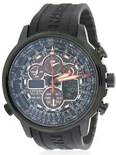 Citizen Eco-Drive Navihawk Atomic Alarm Chronograph Mens Watch JY8035-04E