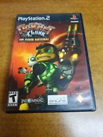 Ratchet & Clank: Up Your Arsenal Greatest Hits (Sony PlayStation 2, 2005)(CIB)