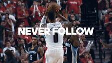 "073 Damian Lillard - Portland Trail Blazers NBA Basketball Star 42""x24"" Poster"
