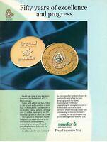 1995 Original Advertising' American Saudi Arabian Airlines 50° Anniversary