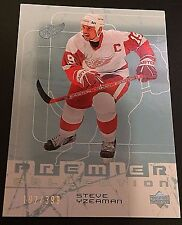 STEVE YZERMAN 2003-04 Upper Deck PREMIER Collection Card #22 #d /399 RED WINGS