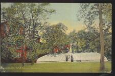 Postcard KALAMAZOO Michigan/MI  Local Area Asylum Building & Grounds 1907