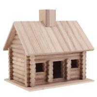 Exclusive Large Wooden Bird Table House Bird Feeder&Feeding House, Garden Decor