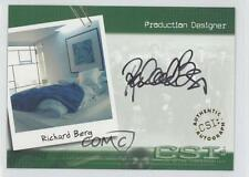 2003 Autographs #CSI-A14 Richard Berg Production Designer Non-Sports Card 3v3