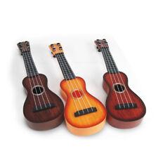 UKULELE MINI GUITAR 4-STRING MUSICAL INSTRUMENT KIDS CHILDREN GIFT TOY PLASTIC G