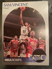 1990-91 NBA Hoops Sam Vincent Michael Jordan 223 Error # 12