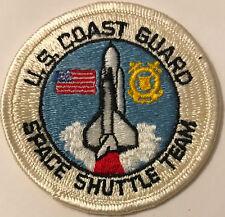 "Us Coast Guard Nasa Space Shuttle Team 3"" Patch"