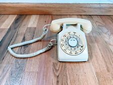 Vtg 70s Bell System Western Electronic 500 Dm Rotary Dial desk phone