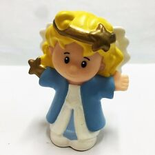 Fisher-Price Little People Christmas Angel Nativity Figure baby cute doll Toy