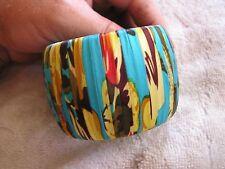 Colorful Cloth Cara Courture bracelet